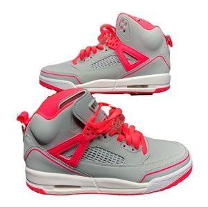 Jordan Spizike Basketball Shoe Gray Pink